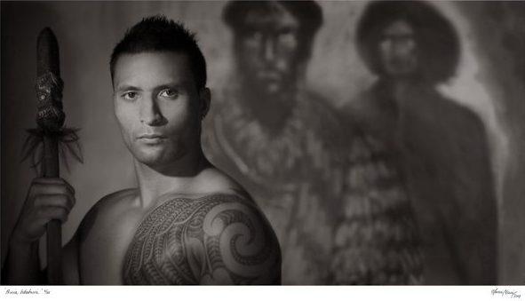 Maori Artist Tania Niwa